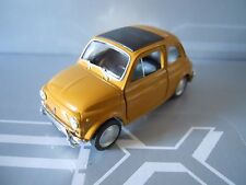 WELLY - FIAT 500 1968 ARANCIO ORANGE  1:39 11,5 cm LEGENDARY  [MV7]