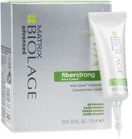 Advanced fiberstrong 10x .33 oz vials Matrix Biolage Intra-Cylane Concentrate