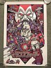 Transformers The Movie Optimus Prime Megatron Poster Art Print Mondo Tim Doyle