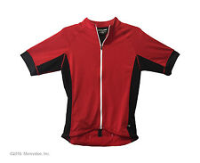 Road cycling jersey Cannondale Prelude S shorts sleeve red Performance semi fit