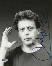 """Philip Glass composer REAL hand SIGNED 8x10"""" Photo #3 BAS COA Autographed"""