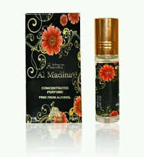 Attar Al Madina 6ml by Anfar Benzoin Amber Musk Roll On Perfume Oil 1x6ml
