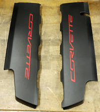 Chevrolet C7 Corvette Genuine GM Fuel Rail Cover Set 12641720 12643709