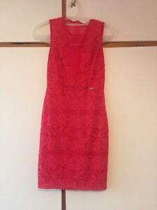 Guess Pink Dress Size S Rrp £79