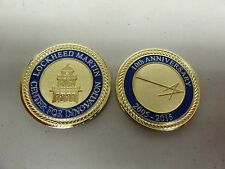 CHALLENGE COIN LOCKHEED MARTIN CENTER FOR INNOVATION 10TH ANNIVERSARY 2005-2015