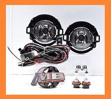 Fits 05-14 Nissan Xterra & 10-17  Frontier Clear Fog Light Plastic Bumper Only