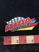 IHRA INTERNATIONAL HOT ROD ASSOCIATION MOTORSPORTS Car Advertising Patch 88NM
