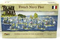 Black Seas 792012001 French Navy Fleet [1770-1830] (Starter Set) Warlord Games