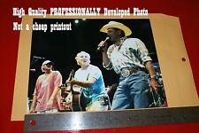 George Strait Jimmy Buffett Alan Jackson Concert Photograph Read->get Autographs