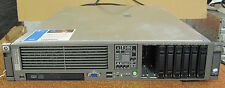 HP ProLiant DL380 G5 2U servidor en rack, XEON E5335 Q-C 2.0Ghz, 8 GB de RAM, HDD RAID, no