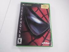 Spider-Man Platinum Hits Microsoft Xbox 2003 CIB Complete Cleaned Tested Game