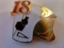 PIN'S  CASQUE POMPIER  /  18  /  SUPERBE