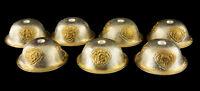 7 Ciotole A che Offre Tibetano Ø 63mm Buddista Top Qualità Rame Tibet 8853