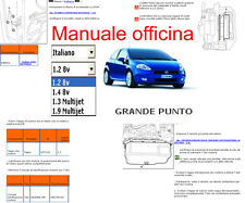 MANUALE OFFICINA Fiat Grande Punto MANUAL SERVICE SOFTWARE ELEARN  PER windows