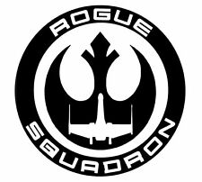 star wars rouge squadron vinyl decal sticker rouge one
