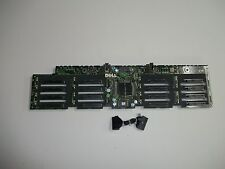 "Dell PowerEdge R910 16 X 2.5"" Slot Hard Drive Backplane J565K 0J565K w/cable"