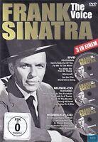 Frank SINATRA + The Voice + DVD & Musik CD & Hörbuch CD + Über 3 Stunden Spaß +