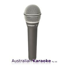 NEW Samson Q8 Professional Handheld Dynamic Vocal Microphone w/ Mic Clip & Case