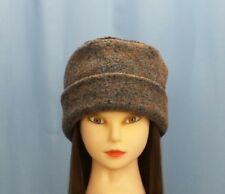 Pillbox Hat Looped Wool Sunrise Horse Warm Winter Hat Anti Itch Moisture Wicking