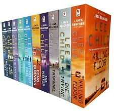 Lee Child Jack Reacher Series 1 & 2 Collection 10 Books Set Die Trying Visitor