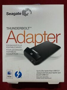 Seagate STAE128 Thunderbolt Interface – Card adapter and Card and Adaptors, USB