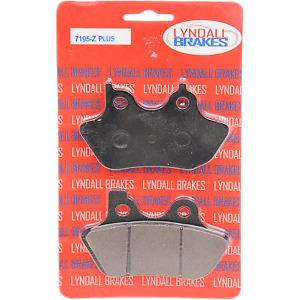 Lyndall Racing Brakes - 7195-Z+ - Z Plus Brake Pads Harley-Davidson Super Glide