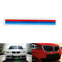 Front Grille Grill Vinyl Strip Sticker Decal Pour BMW M3 M5 E36 E46 E60 E90 E92