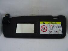 *AUDI A4 B8 2008-2012 BLACK PASSENGER LEFT SUN VISOR WITH LOOM 8K0857551
