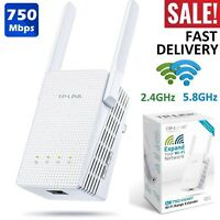 TP-Link WiFi Range Extender 750 Mbps Signal Booster Wireless Repeater Router