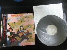 Bireli Lagrene & Jaco Pastorius Stuttgart Aria Japan Promo Vinyl LP w OBI Jazz