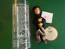 """Kindle Creations Kindles bendable ornament doll """"Blues"""" With Saxophone (Cl 32)"""