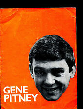 GENE PITNEY : original UK Tour magazine (+ Troggs  Loot  Normie Rowe & Playboys)