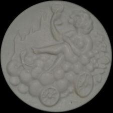 MEISSEN: Weiße Porzellan-Medaille 2006. MEISSNER WEINFEST - WEINBAU.