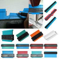 """5""""-20"""" Shape Contour Irregular Profile Ruler Plastic Gauge for Duplicator Scale"""