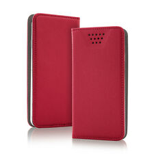 SMART Magnet Tasche rot für Cubot Magic Case Hülle Etui