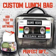 MIX personalizzato NASTRO MUSICA Grande Borsa pranzo isolata COOL BOX REGALO ST780