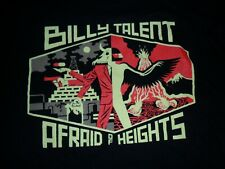 BILLY TALENT - Afraid Of Heights Canadian Tour Concert T Shirt