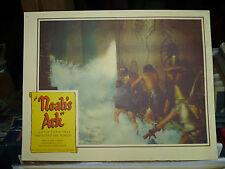 "NOAH'S ARK, orig 1951 LC () ""Here comes the rain,,,,"""