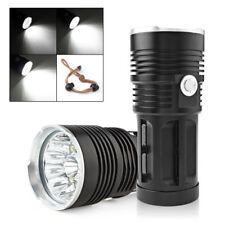 32000LM 12 x CREE XM-L T6 LED SKYRAY Flashlight 3 Modes Lamp Torch US SHIPPING