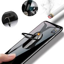 Phone Ring Stand Holder Electric Rechargeable Cigarette Lighter Windproof Lot