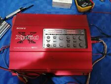 amplific sony xplod xm-5040x 4 canali 100x4 ho 260x2 crossover pass alto e basso