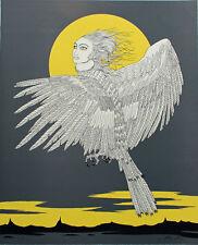 FELIX LABISSE (1905-1982) Lithographie originale Le Rose-Pleur dim. 56 x 45 cm