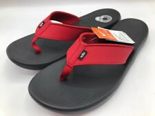 Nike Men's Size 13 Kepa Kai Thong AO3621-600 Black/Red Sandals New with Tags NWT
