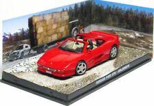 Ferrari f355 GTS GOLDENEYE 1:43 007 James Bond coche diorama metal diecast