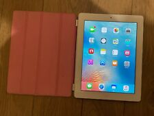 Apple iPad 3rd Gen. 64GB, Wi-Fi + Cellular (Unlocked), White with Cover Bundle