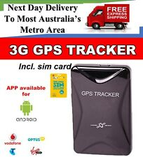3G GPS TRACKER MAGNETIC CAR VEHICLE REAL TIME TRACKING PORTABLE RECHARGEABLE