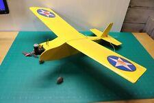 Vintage RC Plane R/C Airplane Gas Motor