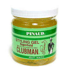 Clubman Hair Styling Gel Superhold