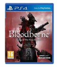 Bloodborne Game of the Year Edition GOTY PS4 New and Sealed