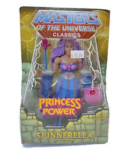 MOTUC Spinnerella She-Ra POP Masters of the Universe Classics He-Man MOTU Rare